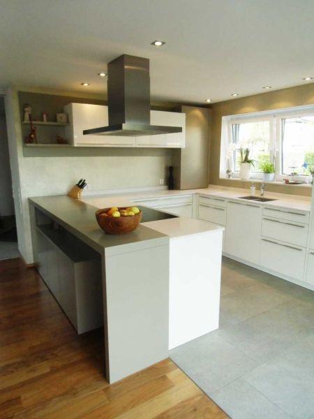 LEICHT Küchen; Küche I in Dettingen #LEICHT #lack #matt #silestone ... | {Leicht küchen weiß 74}