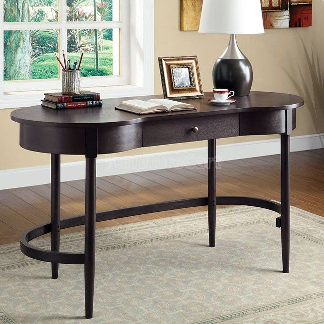 Kidney Shaped Writing Desk Kidney Shaped Desk Coaster Furniture Furniture