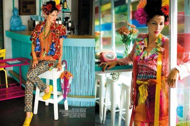 Harper's Bazaar Photoshoot @ Sea Circus Seminyak