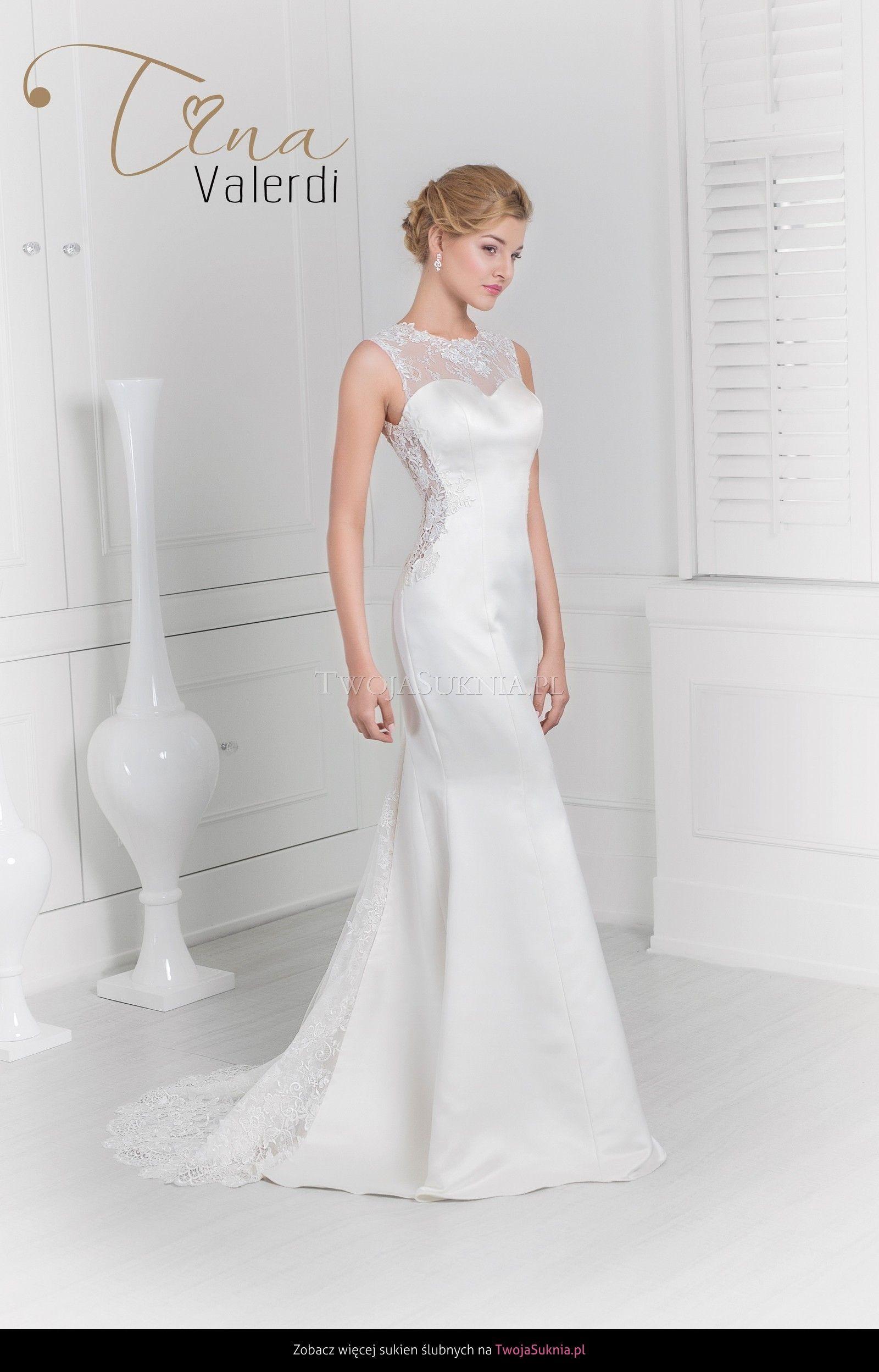 Suknia Slubna Tina Valerdi Enigma 2016 Twojasuknia Pl Wedding Dresses Dresses One Shoulder Wedding Dress
