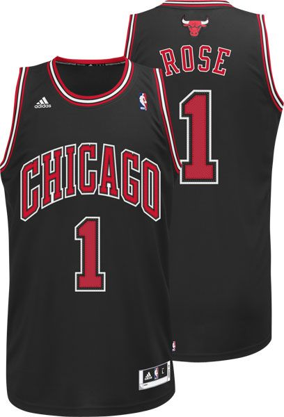 fa6993ec9 Derrick Rose Chicago Bulls Revolution 30 Swingman Alternate Jersey by Adidas   89.95