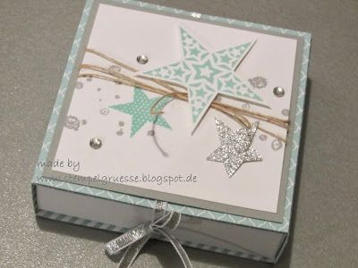 stampin up simply stars kartenbox adventskranz to go stempelgr e karten mit verpackung. Black Bedroom Furniture Sets. Home Design Ideas