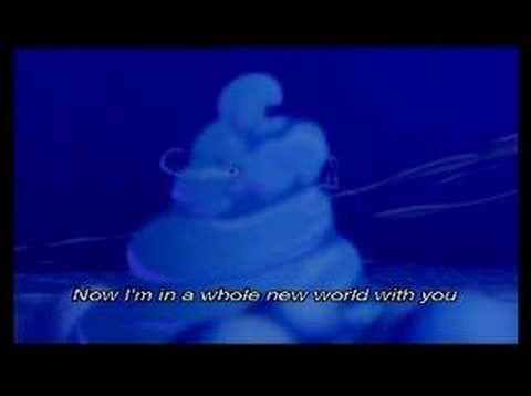▶ Aladdin - A Whole New World Sing-along Lyrics on-screen - YouTube