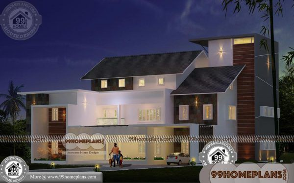 Kerala style homes designs and plans double floor house also rh pinterest