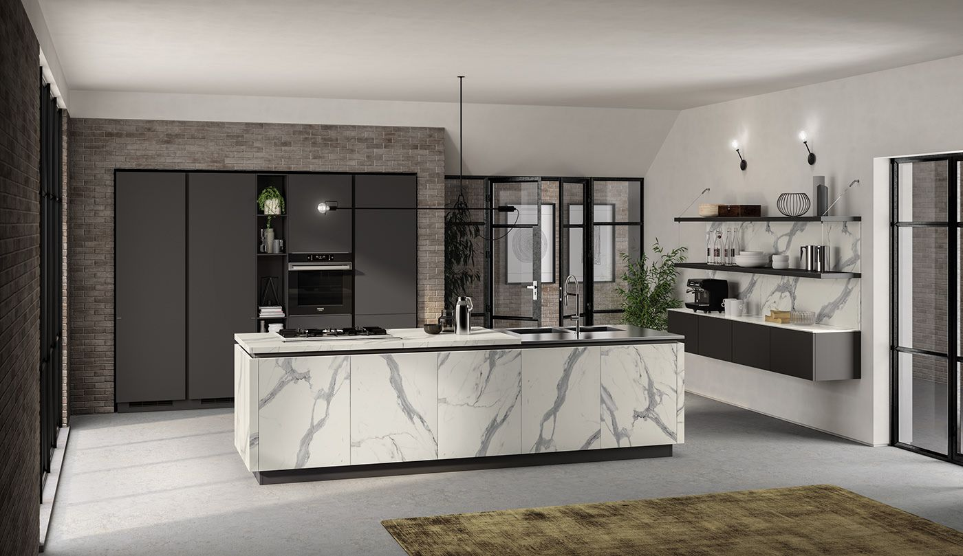 Kitchen 2019 on Behance in 2020 Scavolini kitchens