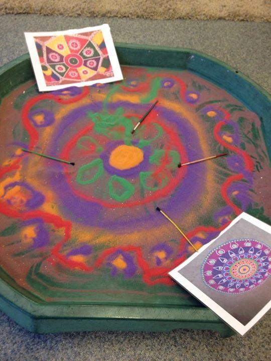 Pin By Caroline H On Tuff Tray Ideas Diwali Eyfs