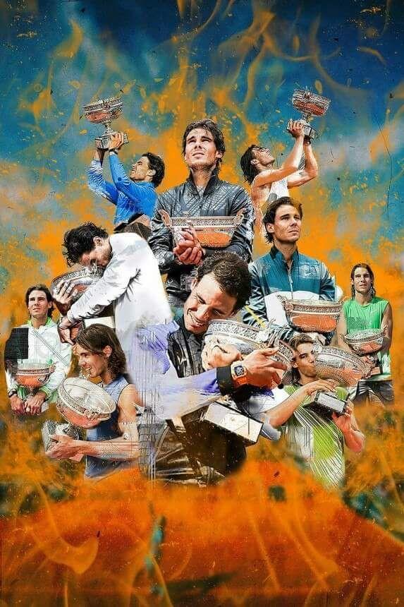 Vamos King Of Clay Rafael Nadal Rafael Nadal Wallpaper Rafael Nadal Style Camisetas De Tenis Jugadores De Tenis Fotos De Futbol