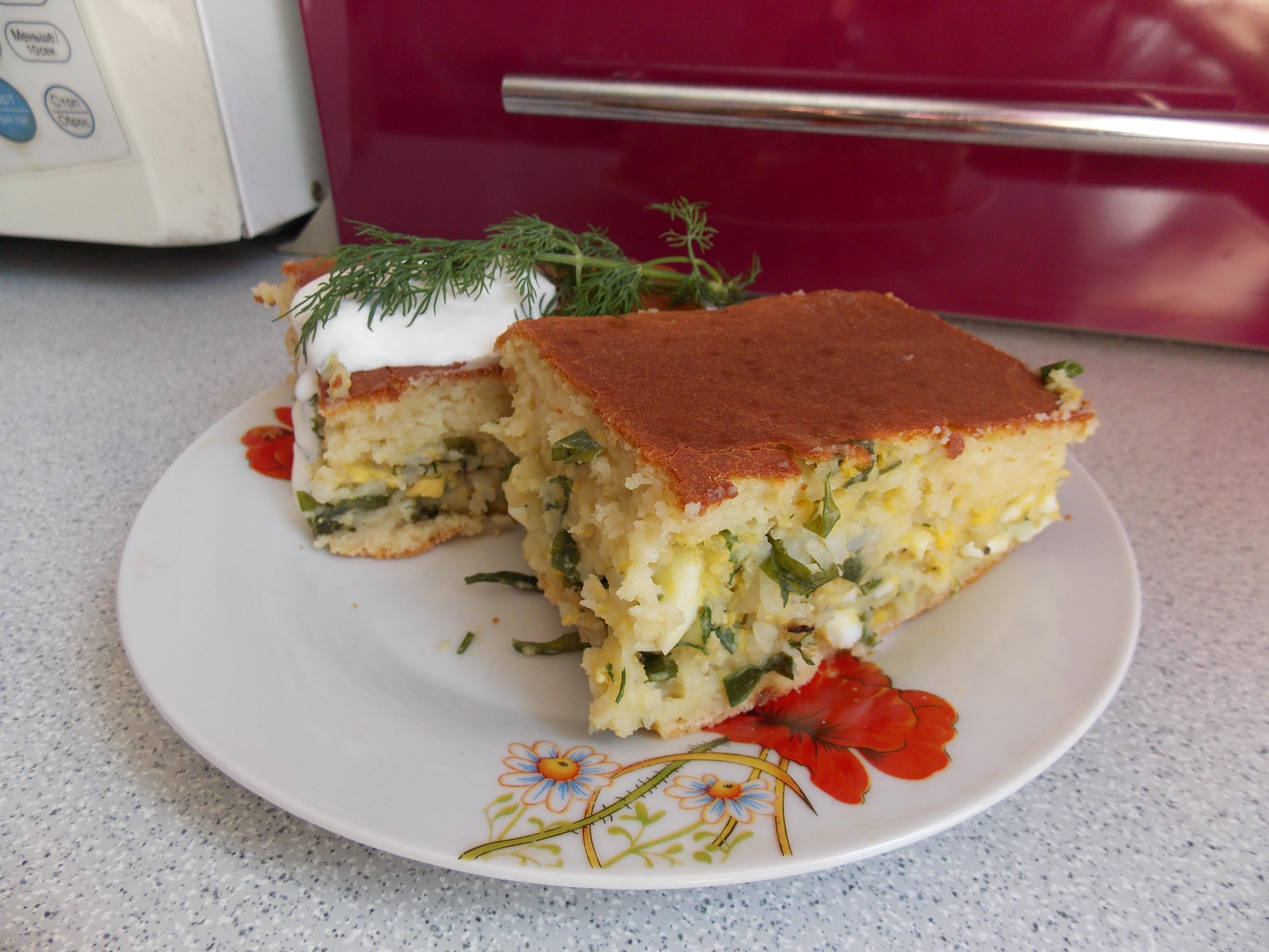 Наливной пирог с капустой - рецепт с фото | Идеи для блюд ...