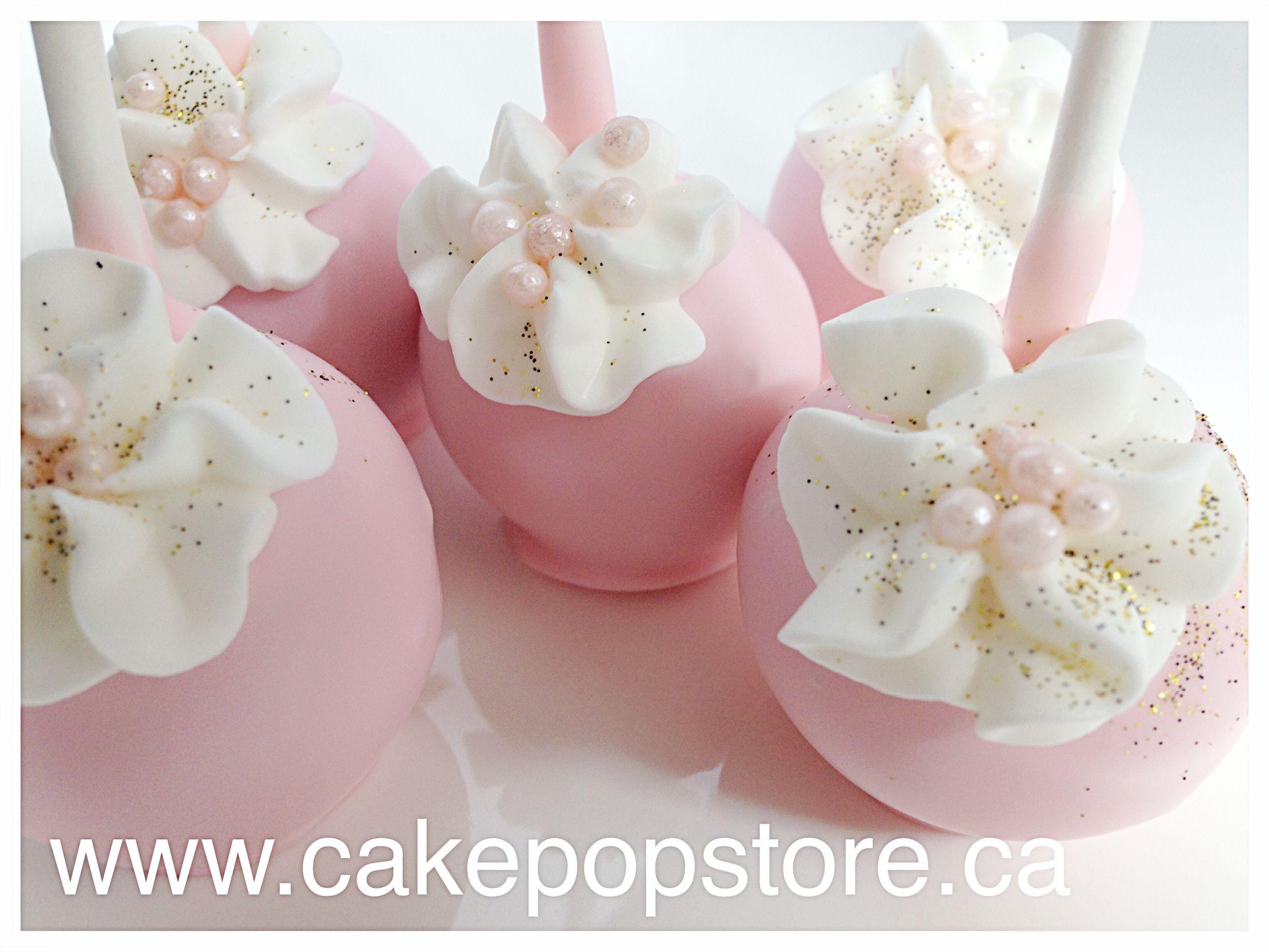 Girl communion cake pops