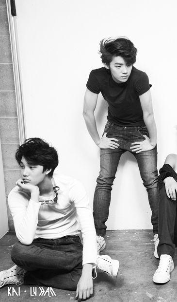 EXO Kai and Luhan bw MAMA ERA #jongin