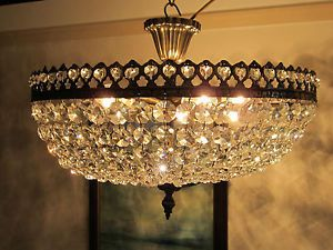French Ceiling Lights French Style Low Ceiling Glass Crystal Chandelier Nouveau Lighting Light Fixtures Crystal Chandelier Chandelier
