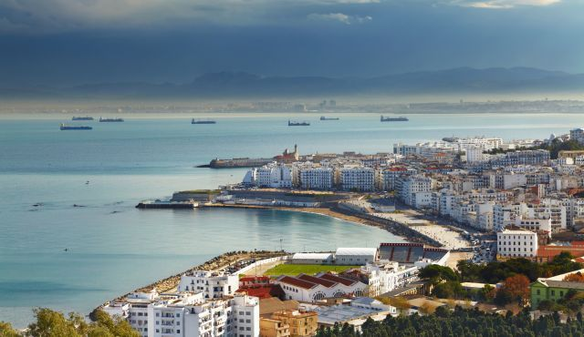 A view of Algiers, capital of Algeria.