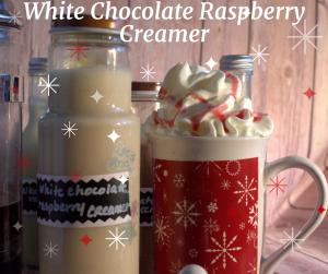 White Chocolate Raspberry Coffee Creamer Recipe White