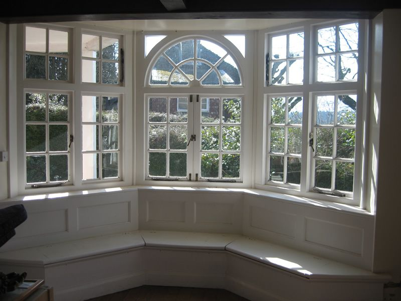 Window Seat In Bay Downstairs