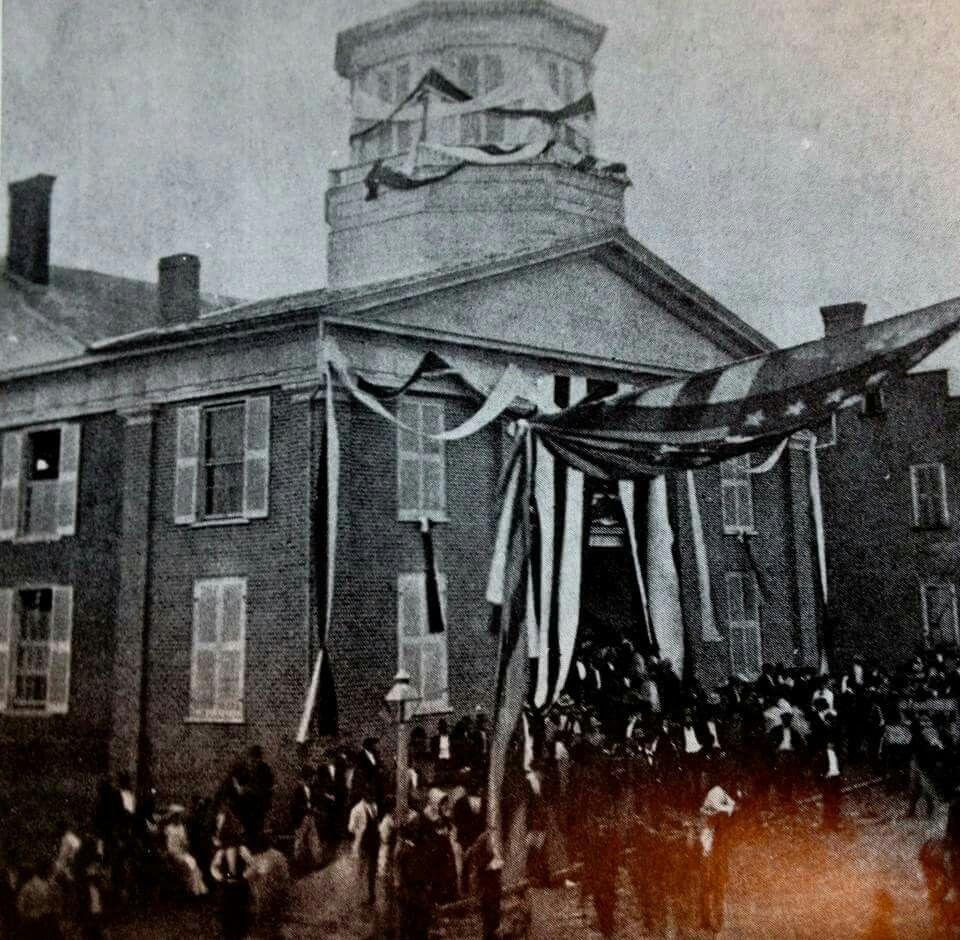 President Andrew Johnson funeral Greeneville Tennessee ... on