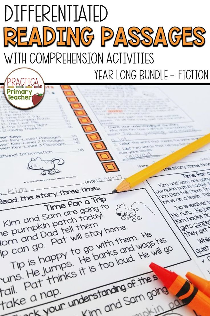 A Great Pack For The Year 108 Differentiated Fiction Reading Passages With Comprehensi Reading Passages Differentiated Reading Passages Differentiated Reading [ 1104 x 736 Pixel ]