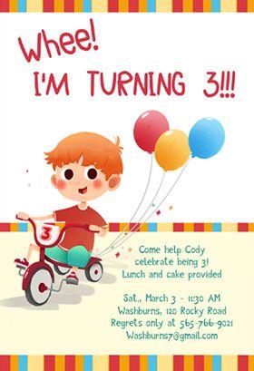 Whee I Am Turning 3