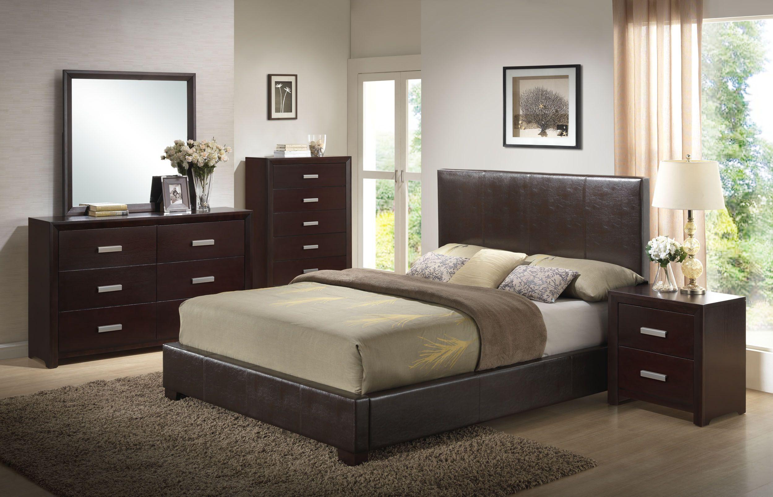 5-piece bedroom set | Queen sized bedroom sets, Tranquil ...