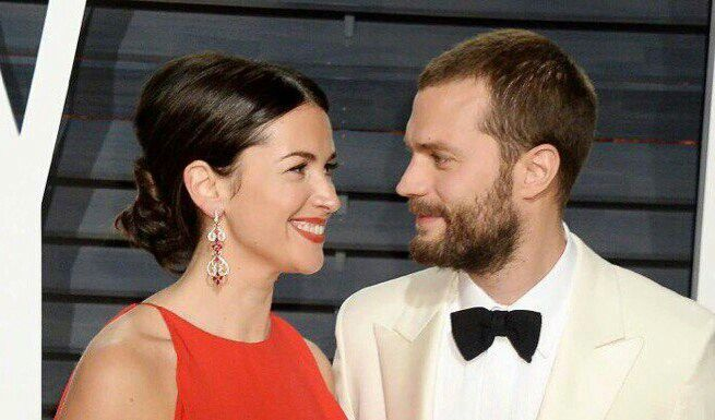 Jamie Dornan Millie Amelia Warner fifty Shades Oscars 2017
