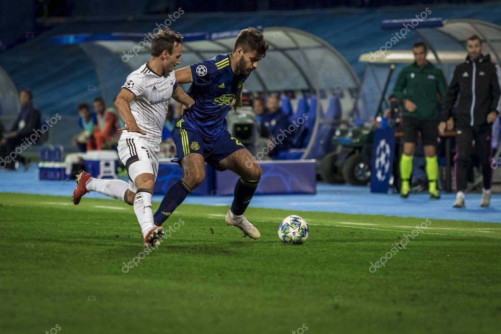 Zagreb Croatia August 2019 Uefa Champions Play Offs 1st Leg Stock Photo Affiliate Uefa Champions Zagreb Croatia Ad Zagreb Croatia Zagreb Croatia