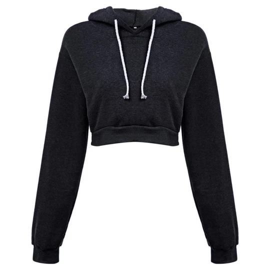 Ladies Womens Casual Jacket Long Sleeve Hoodie Coat Top Hooded Jumper Sweatshirt