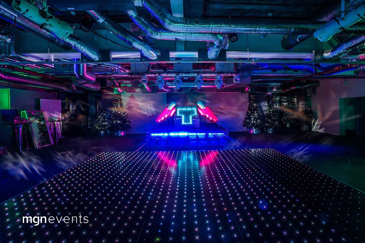 Futuristic Party In The Sky Futuristic Party Corporate Party