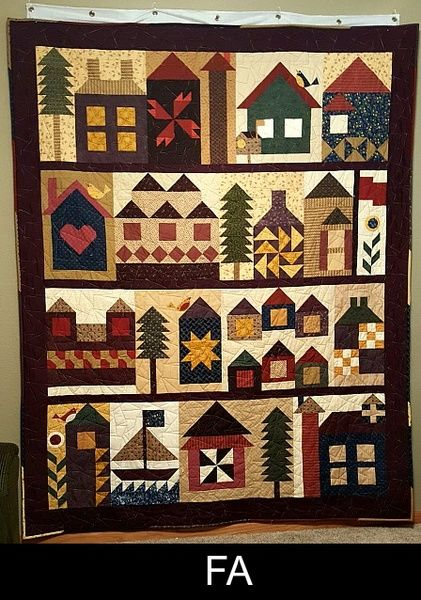 Moda Be My Neighbor Free Quilt Pattern Quilts House
