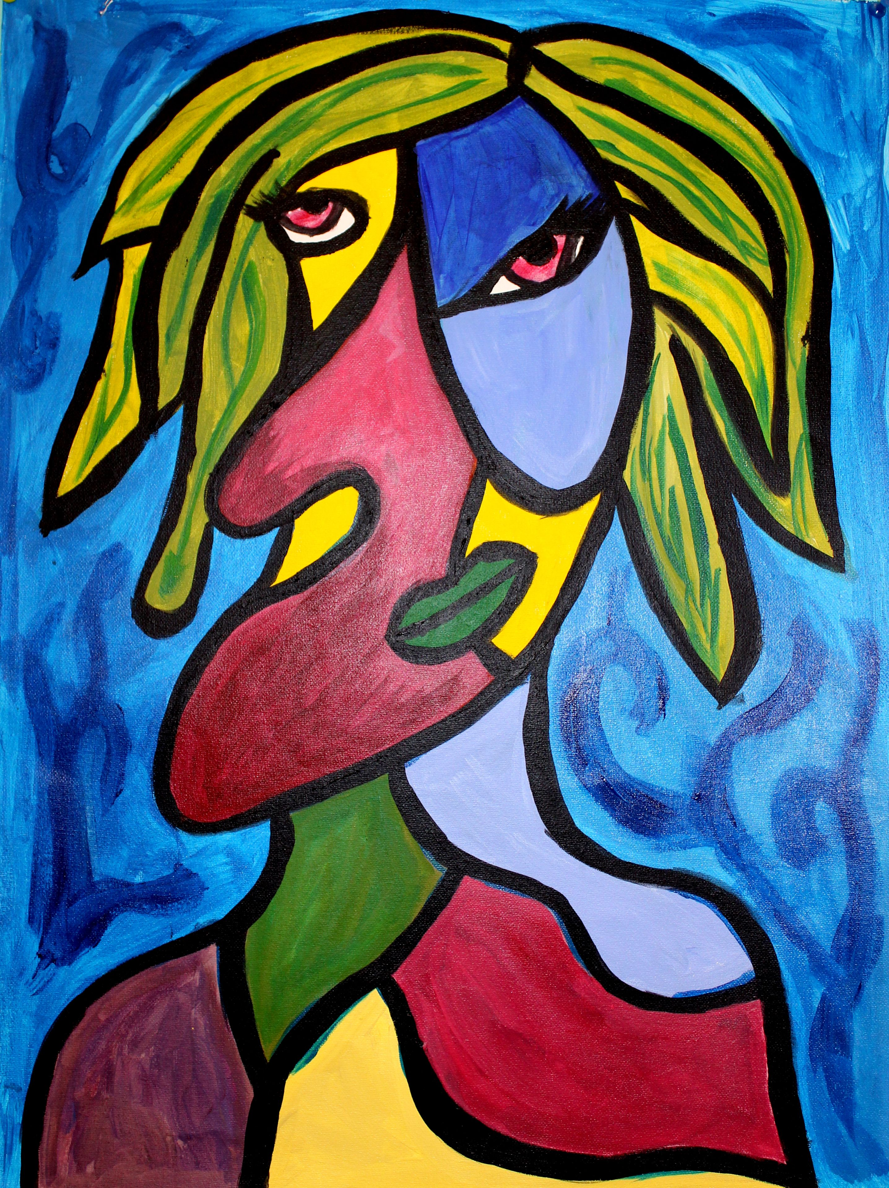 Picasso Cubist Face Paintings
