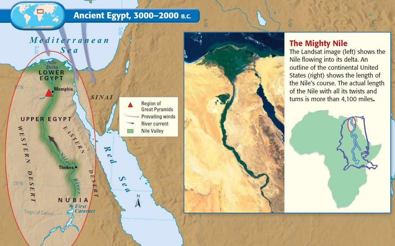 Map Of Ancient Egypt Khemet We Should Stop Calling It