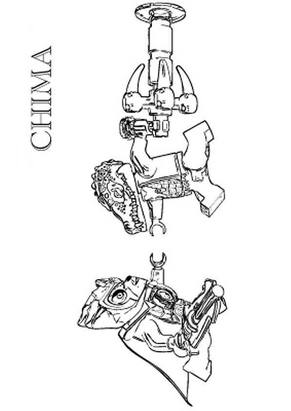 Ausmalbild Lego Chima Lego Chima Lennox Vs Cragger Jounes