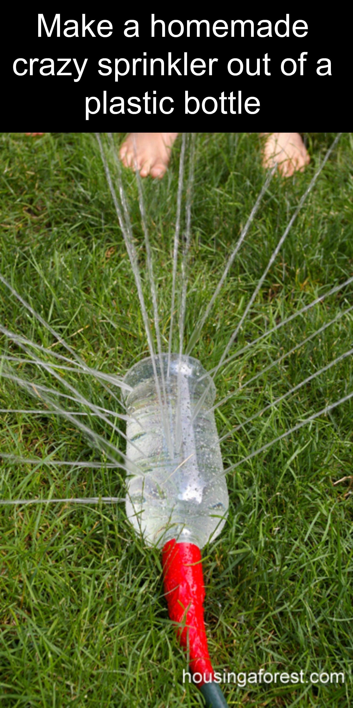 creative u0026 easy diy summer hacks sprinkler plastic bottles and