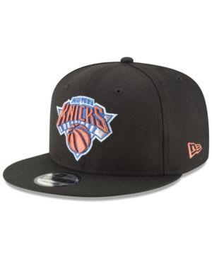 47dddbc6be6 New Era New York Knicks Team Metallic 9FIFTY Snapback Cap - Black Adjustable