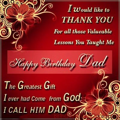Top 100 Happy Birthday Dad Quotes Wishes Messages Father