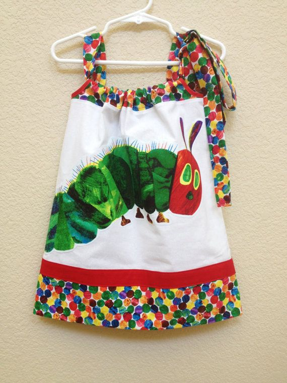 Hey, I found this really awesome Etsy listing at http://www.etsy.com/listing/156035737/the-very-hungry-caterpillar-girls