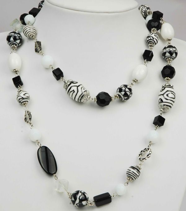 Beaded Necklace Ideas - Beads - Necklaces Designs and Pictures: Gold, Diamond, Pearl, Beaded ...