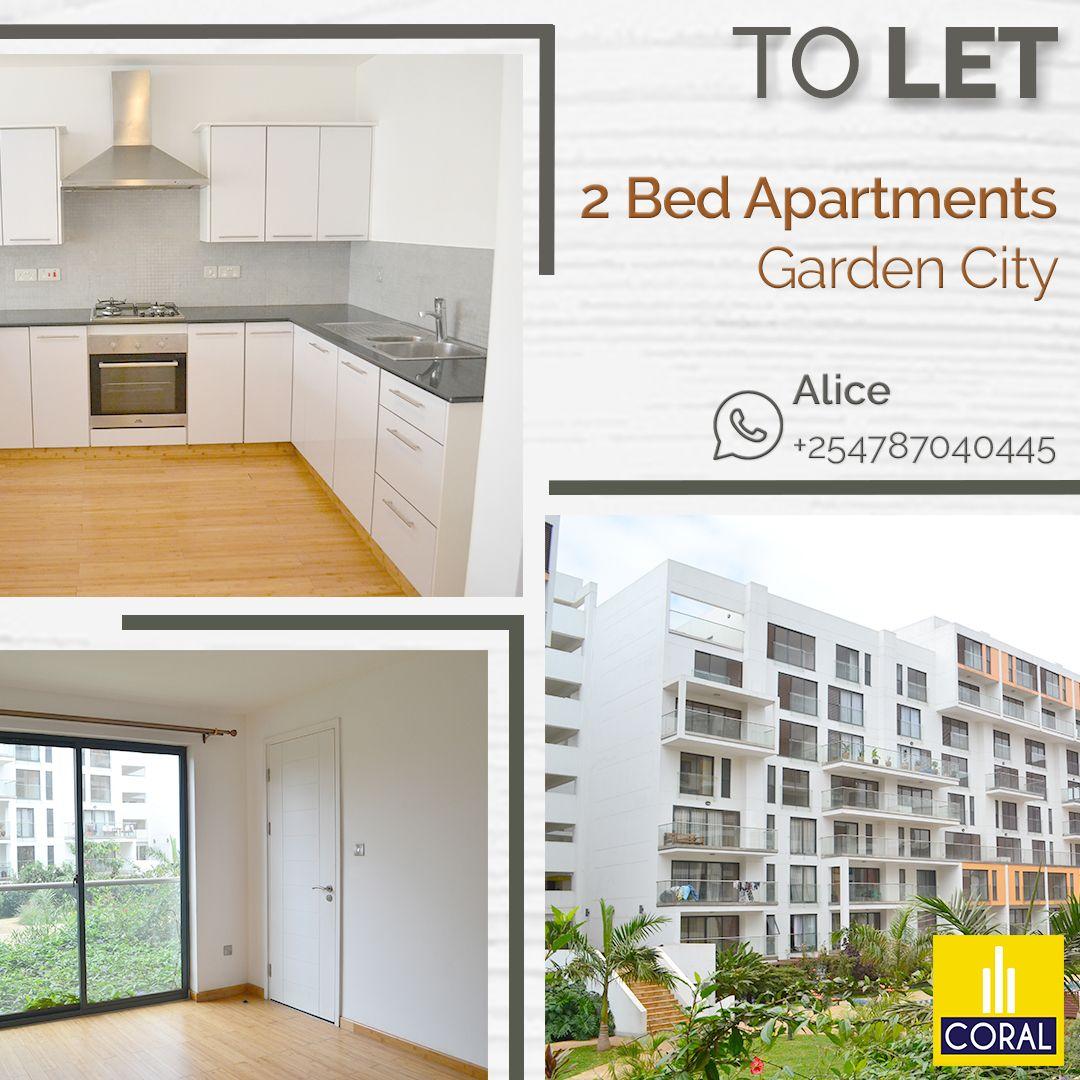 2 Bedroom Apartments To Let in Garden City Village 2