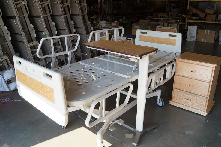 Hill Rom Overbed Tables For Sale Hospital Bed Bed Table Side Bed