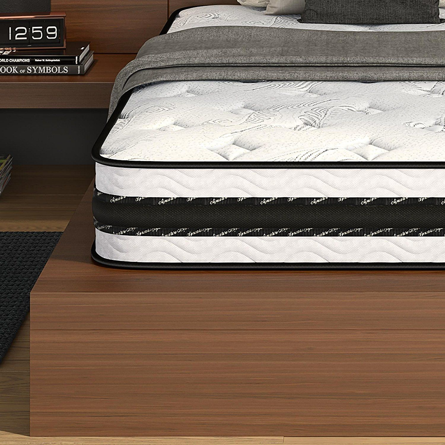trundle bed signature sleep liberty 8 inch independently encased