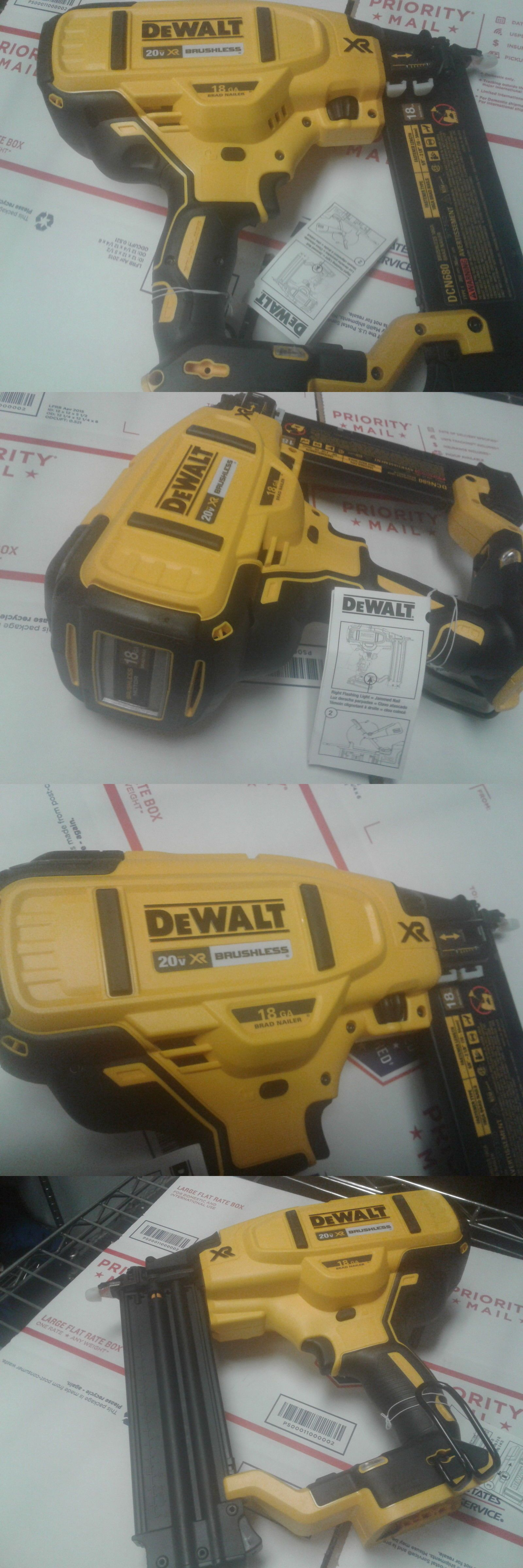 Nail And Staple Guns 122828 Dewalt Dcn680 20v Max 18 Gauge