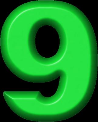 Presentation Alphabets Green Refrigerator Magnet 9 Alphabet Alphabet And Numbers Birthday Party Printables Free
