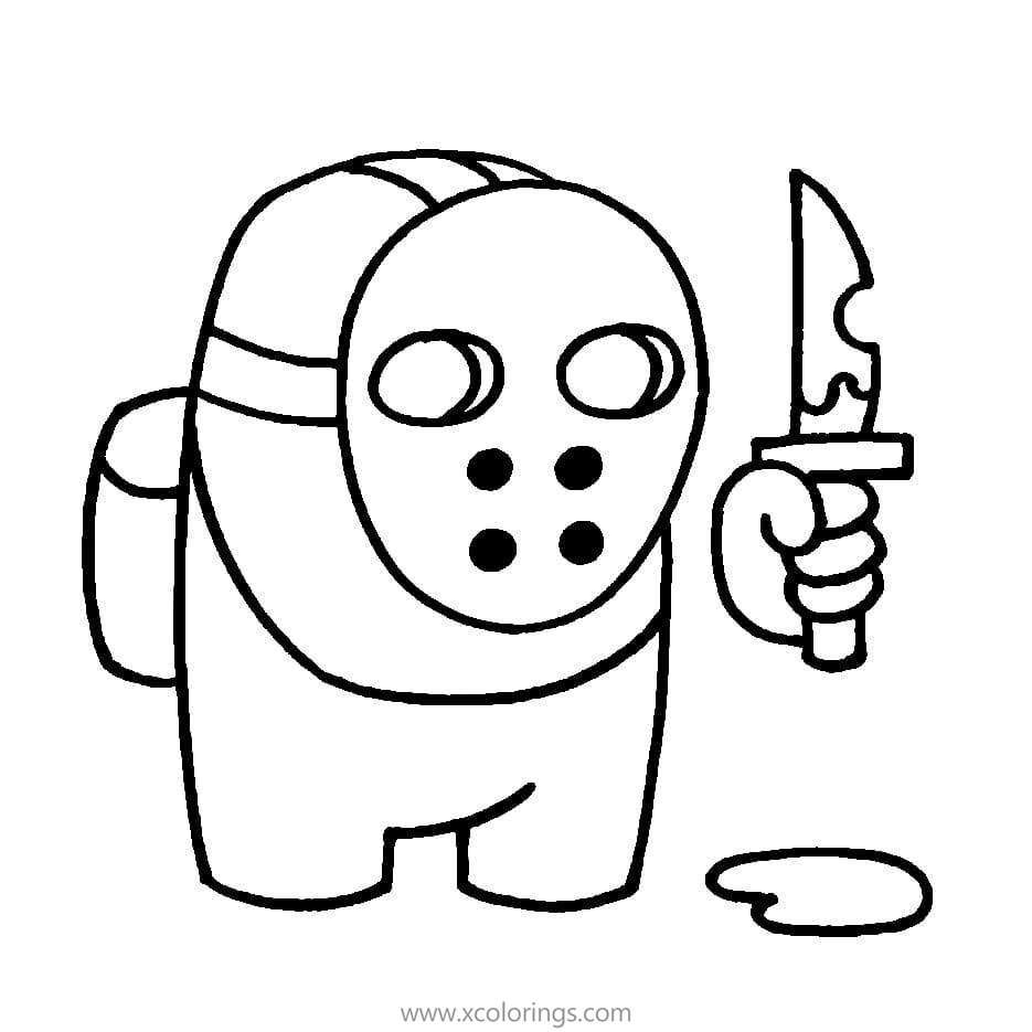 Among Us Coloring Pages Character With Mask Coloring Pages Free Coloring Pages Graph Paper Drawings