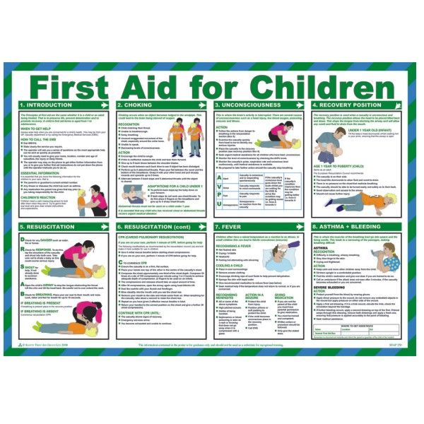 first aid poster 2014 - Google Search