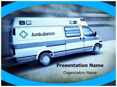 Emergency Ambulance PowerPoint Presentation Template is one of the ...