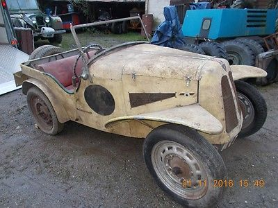 Barn Find Trials Car Similar To Ford Dellow