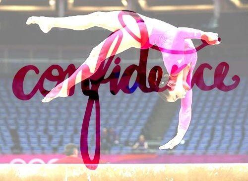 Confidence is key in gymnastics