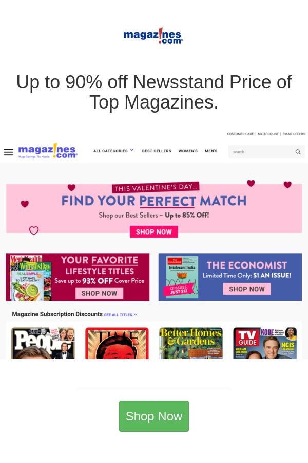 Best Deals And Coupons For Magazines Com In 2020 Magazine