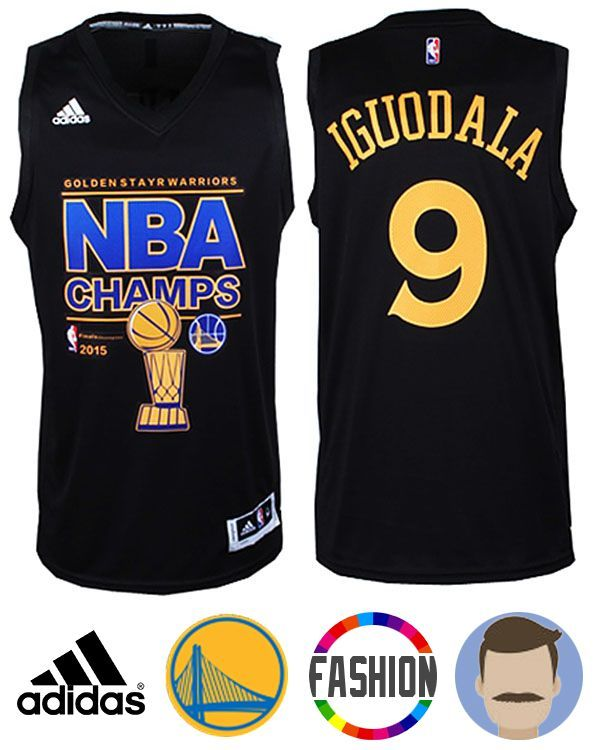 Shop for Men s Adidas Golden State Warriors  9 Andre Iguodala Black New  Swingman Fashion Jersey and be ready to celebrate your team to another win  in this ... 50b802b06
