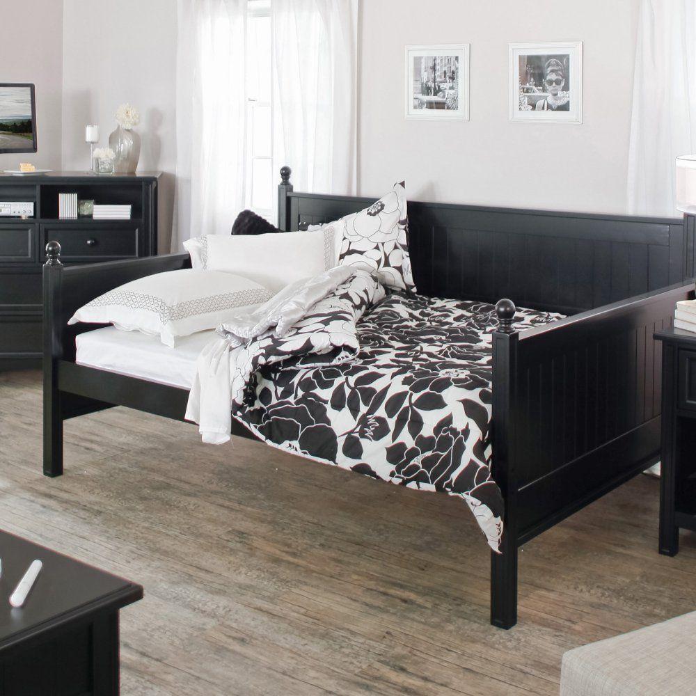 Belham living casey daybed black full daybeds at