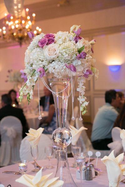 centros de mesa altos para boda - Buscar con Google Flores ramo