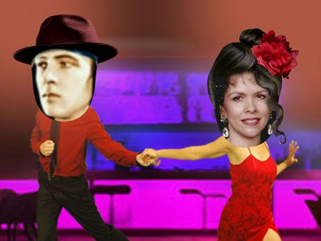 Upload Two Faces Onto Our Professional Dancers Clench A Rose In Your Teeth And Voila Youre The Bell Of Ballroom Sultry Tango Valentines Day